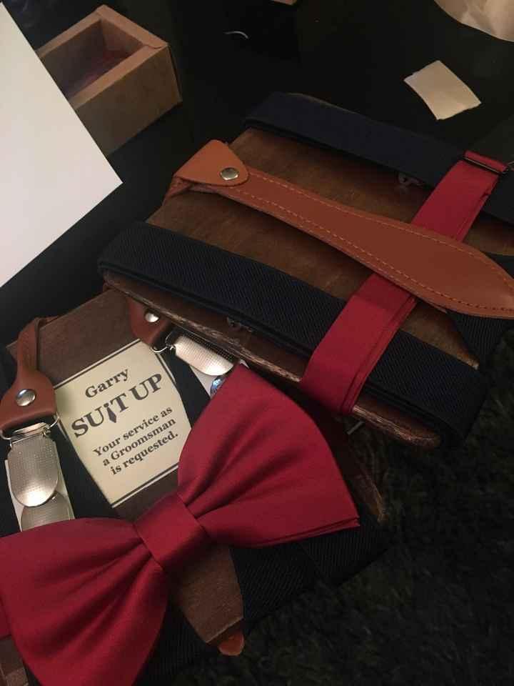 Ties, bowties, or no ties? - 1