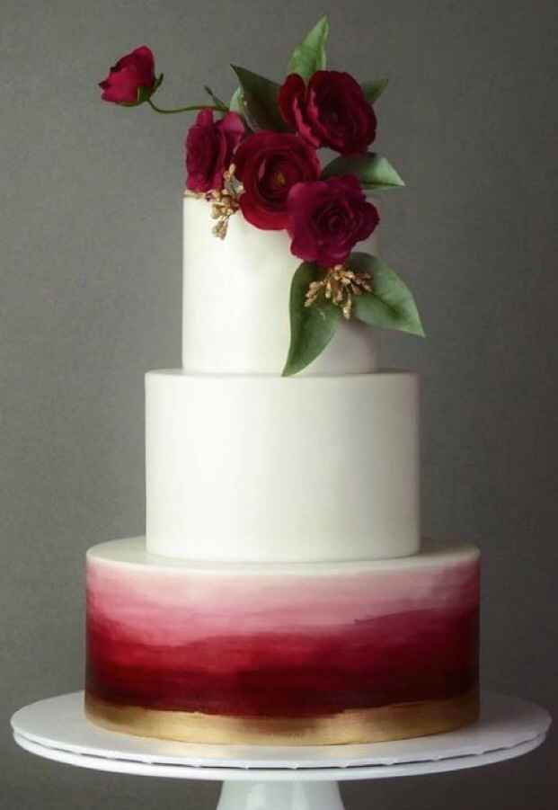 Wedding cake designs- let's see them cakes! - 2