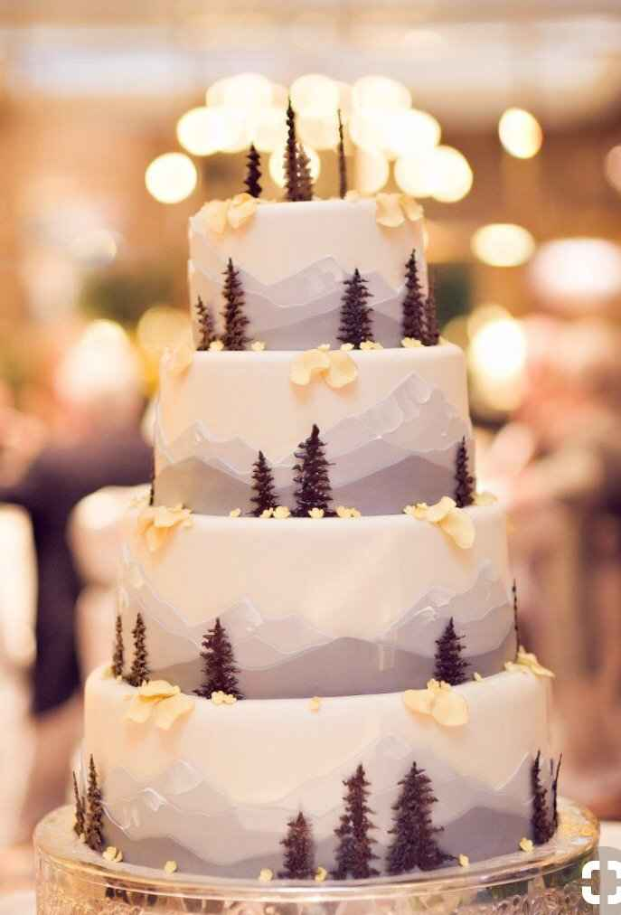 Wedding cake designs- let's see them cakes! - 3