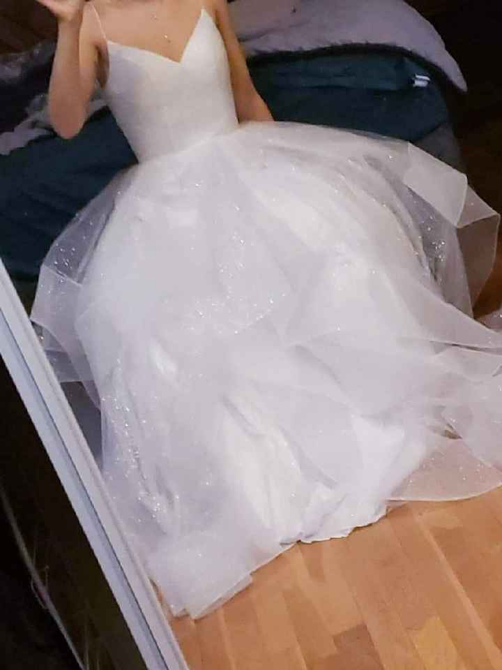 Wedding dress came in! - 1