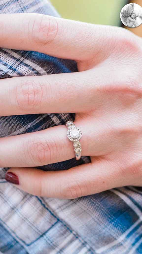 Let's see those beautiful engagement/wedding rings! - 1
