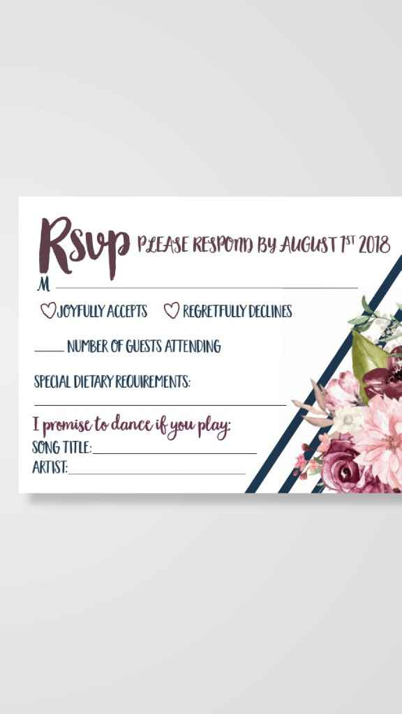 Invitations: Floral or Non-Floral? - 2