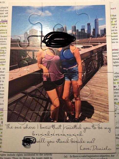 Bridesmaid proposal ideas wanted! 11