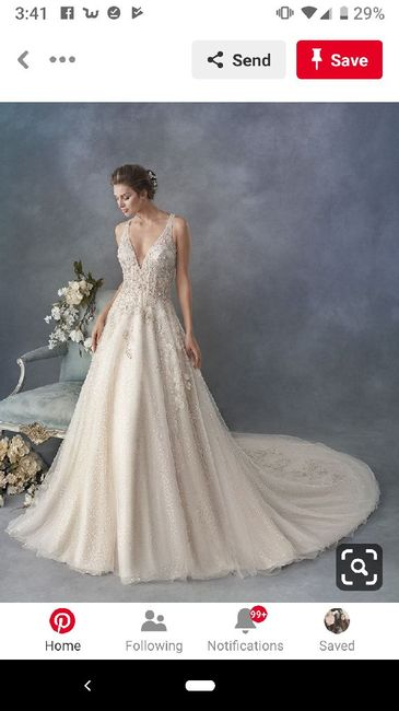 Colours that go well with champagne wedding dress!? 1