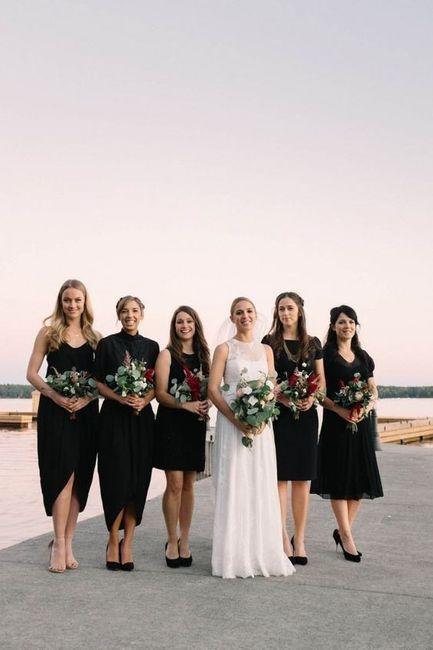 Mismatched Bridesmaid Dresses 6