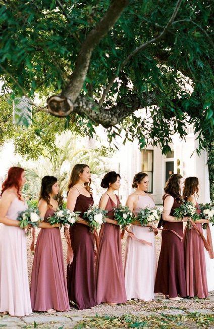 Mismatched Bridesmaid Dresses 7