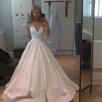 Ladies- hair up or down with dress?! Wedding in 28 days - 1