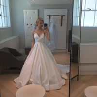Ladies- hair up or down with dress?! Wedding in 28 days - 2