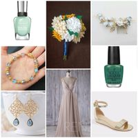 Show me your wedding day nail inspiration! - 1