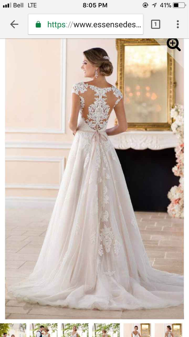 Most popular wedding dress styles in Canada? - 2