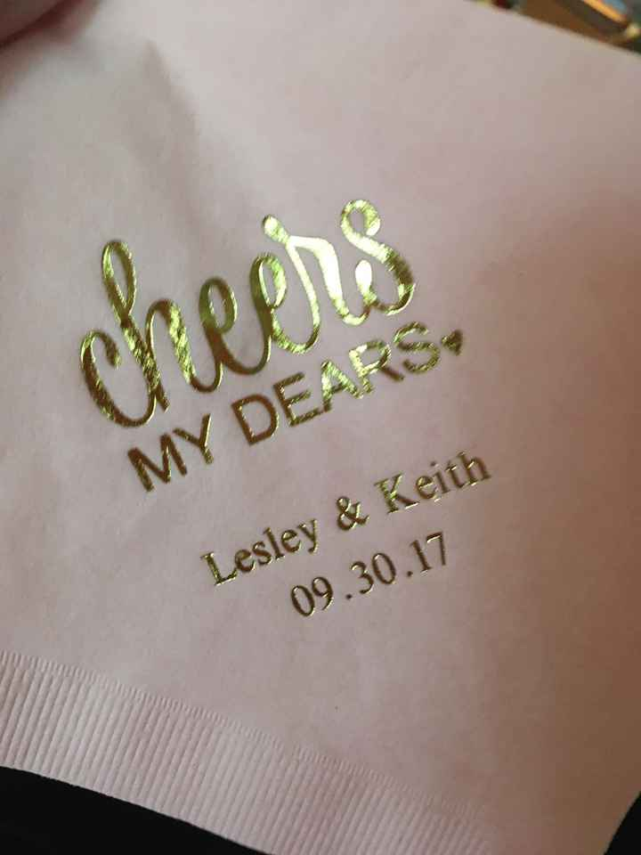 Custom napkins - 1