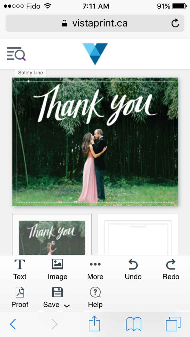 Thank You Cards - 1