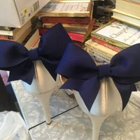 Diy: My Something blue bow clips - 1