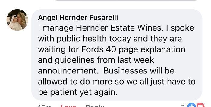 Ontario reopening plan 2021 - 1