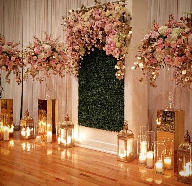 Floral Arch/Backdrop Altar 2