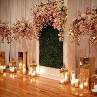 Floral Arch/Backdrop Altar - 1
