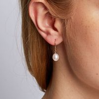 What style earrings will you wear with your wedding dress? - 1