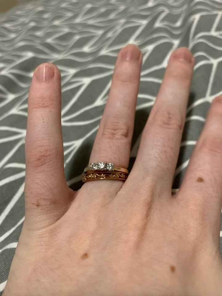 Planning Milestone - Choosing wedding bands - 1