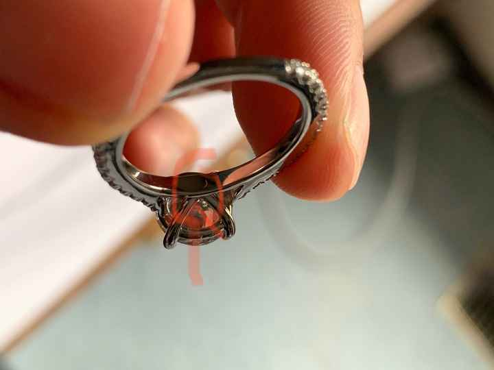 Engaged without a ring for over a month - 1