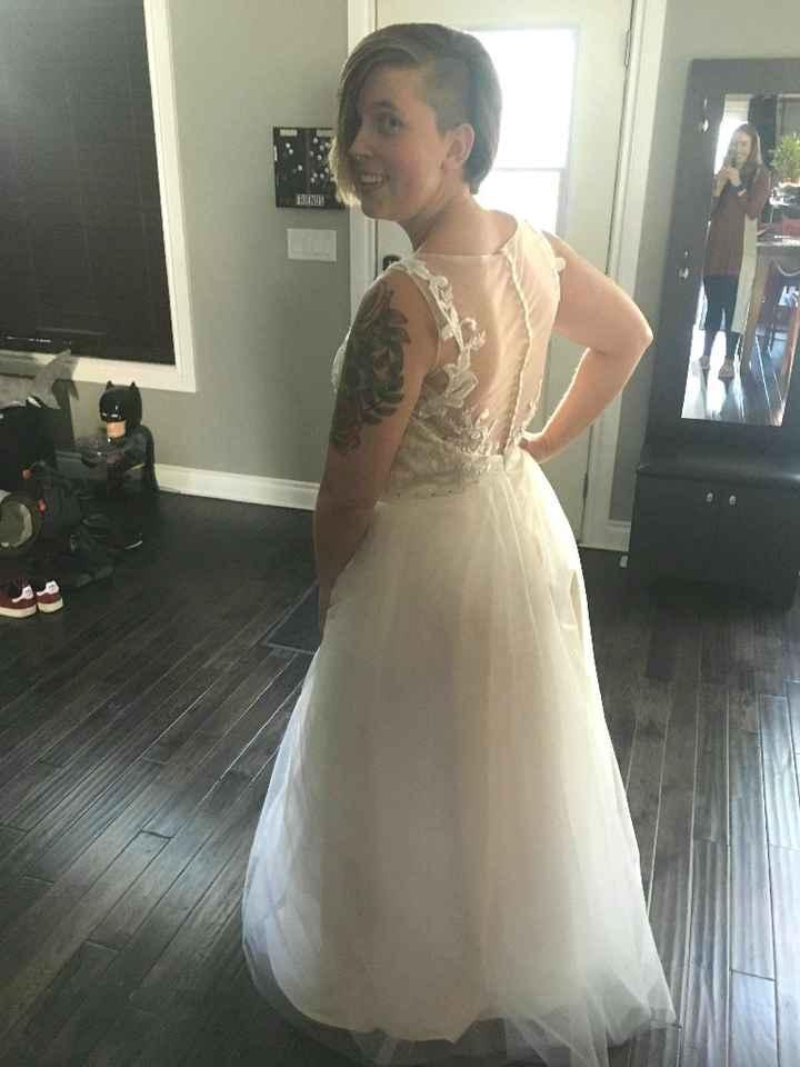 Wedding dress arrived ☺️ - 4