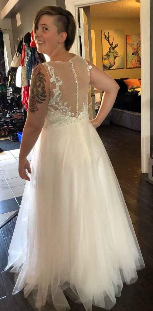 Wedding dress arrived ☺️ - 2