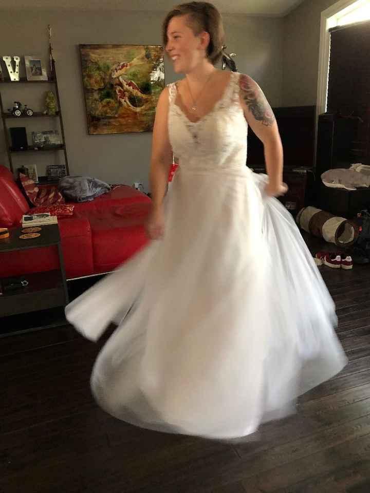 Wedding dress arrived ☺️ - 7