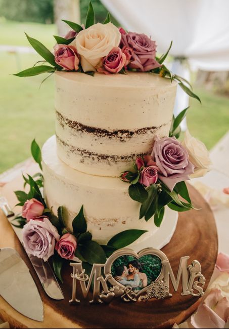 How much did your wedding cake cost? 2
