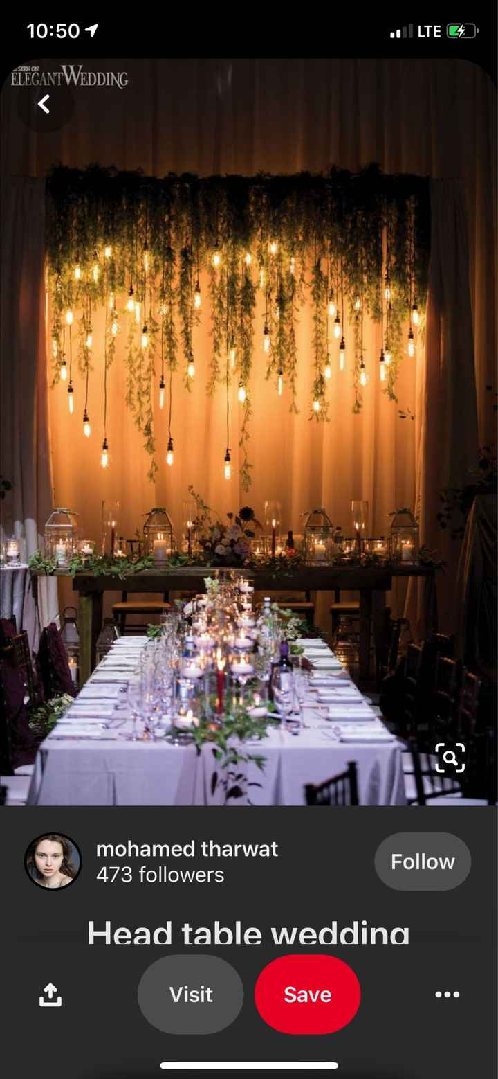 Reception décor and photo inspiration - 3