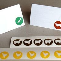 Meal Choice Stickers