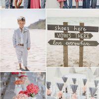Beach Wedding Color Theme