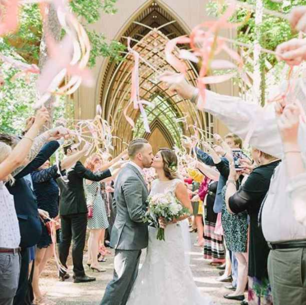 Grand Exit Ideas Without Sparklers - 1