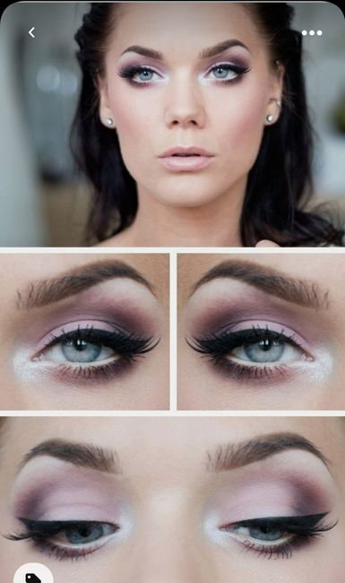 Lilac wedding makeup?? Too much!? 2