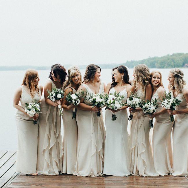 Bridal Party Colours 2