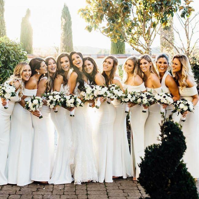 Bridal Party Colours 4