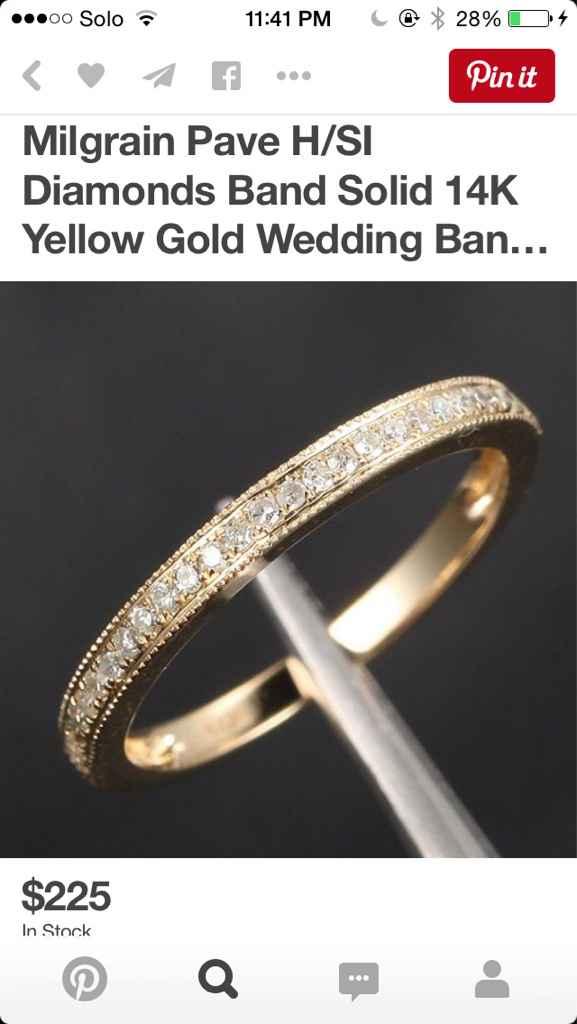 Mismatched metals - wedding sets - 4