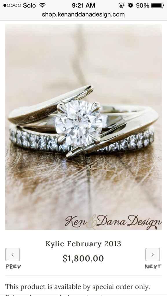 Mismatched metals - wedding sets - 6