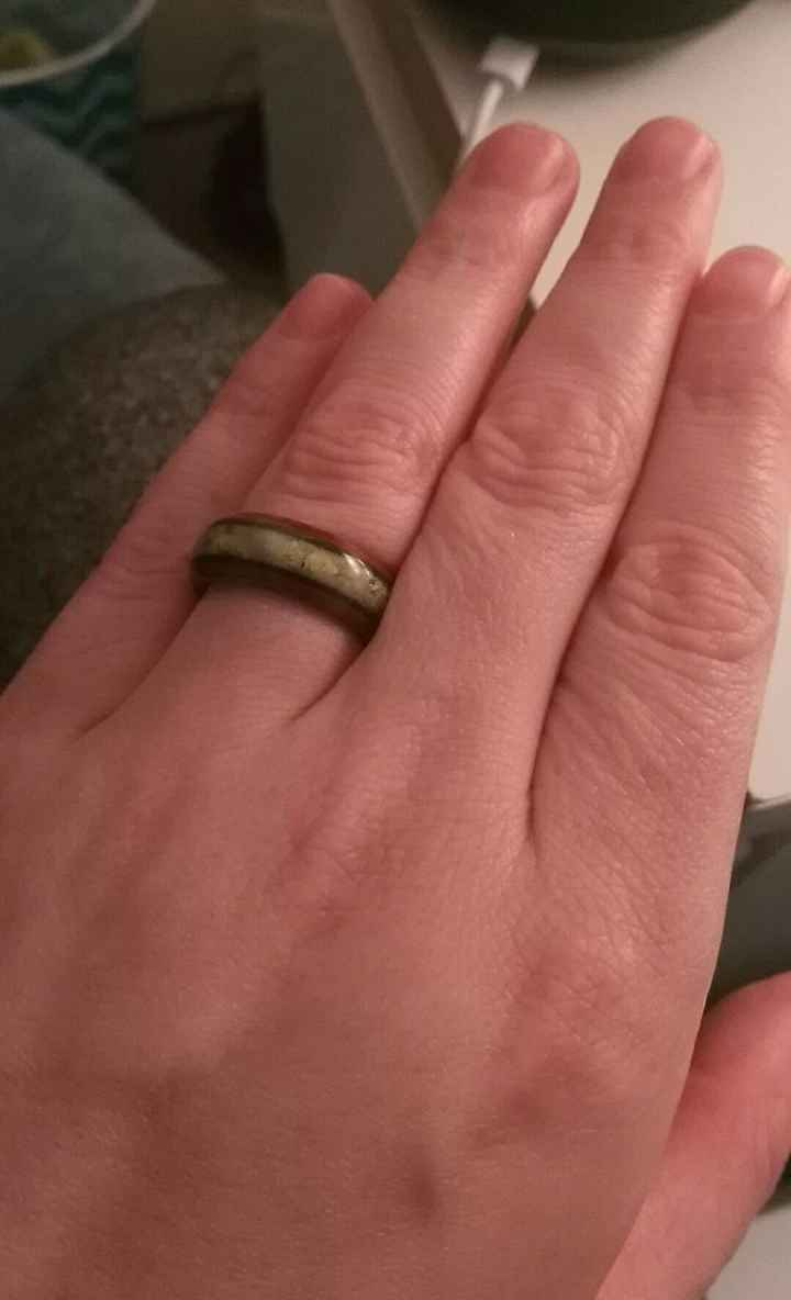 My wooden ring!