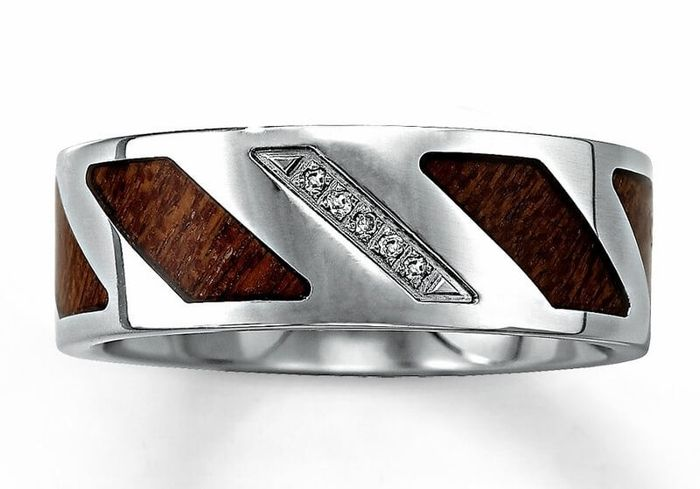 Wedding bands for the men! 3