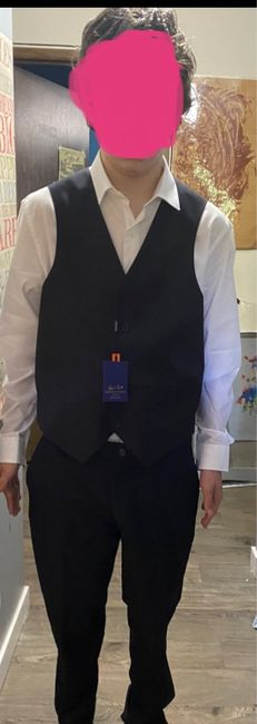Has anyone done a grey vest with black pants - 1