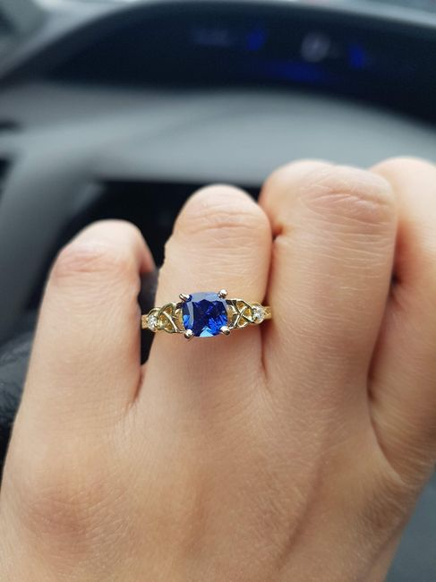 Birthstones and Engagement Rings 2