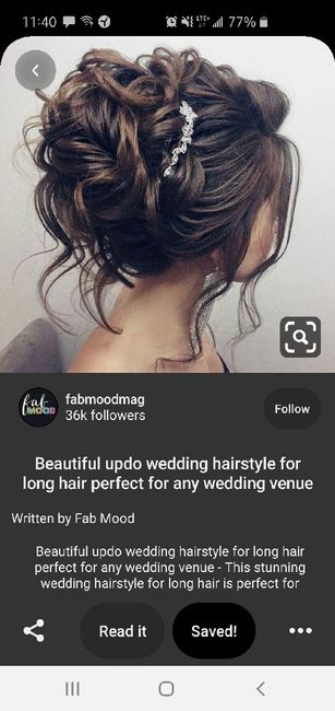 Poll: What is your wedding hairstyle? 2
