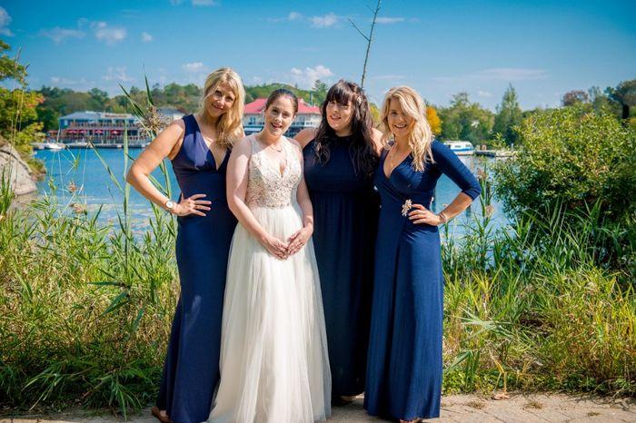 Mismatched Bridesmaid Dresses 3