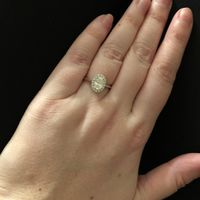 Engagement Rings with Unique features/hidden gems - 1