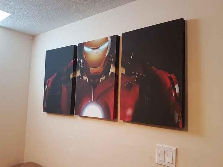 Iron Man Canvas!