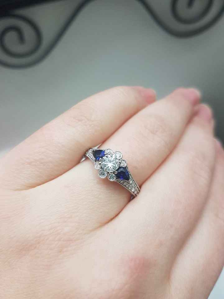 Let's see the engagement rings! - 1