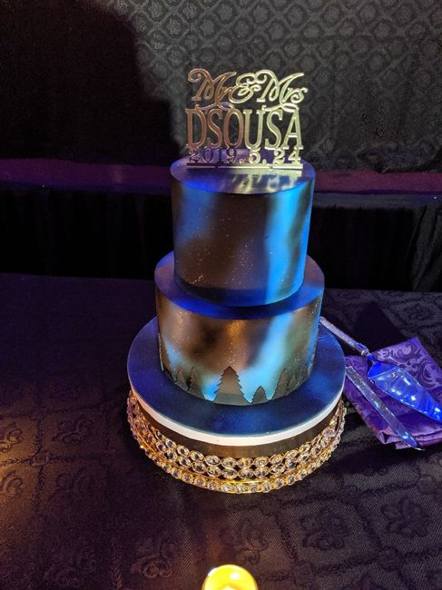 What's covering your cake? - 1