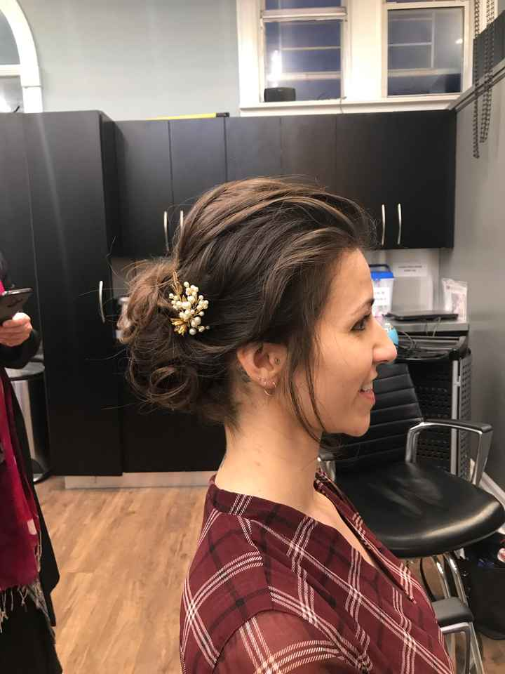 Show off your hair and makeup trial looks - 1