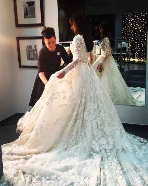 B: Wedding dress