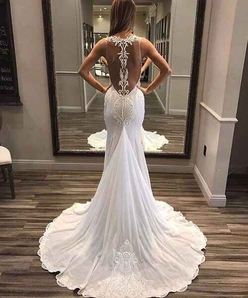 D: Wedding dress