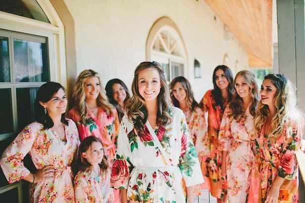 Bridesmaids look